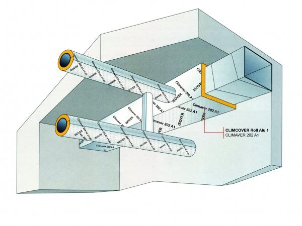 Isolation des réseaux de ventilation par l'extérieur