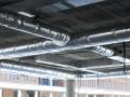 Isolation des gaines métalliques de ventilation par l'extérieur
