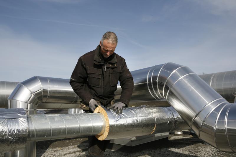 U PIPE SECTION ALU - Revêtues Aluminium - Coquilles concentriques