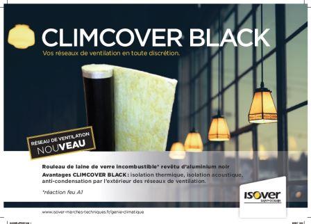 CLIMCOVER BLACK : Calorifuge gaine de ventilation