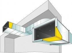Isolation des réseaux de ventilation par l'intérieur