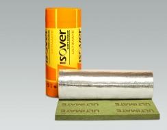 U TECH ROLL MT 4.0 Alu1 : Rouleau en laine minérale ULTIMATE surfacé aluminium renforcé d'une grille de verre
