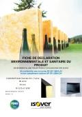 CLIMLINER Slab Cleantec Air+ 25mm - FDES 2017