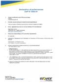 CLIMLINER SLAB V2 - DOP 0002-01