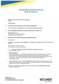 CLIMLINER 504 - DOP 0002-04